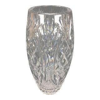 Hand-Cut Crystal Vase