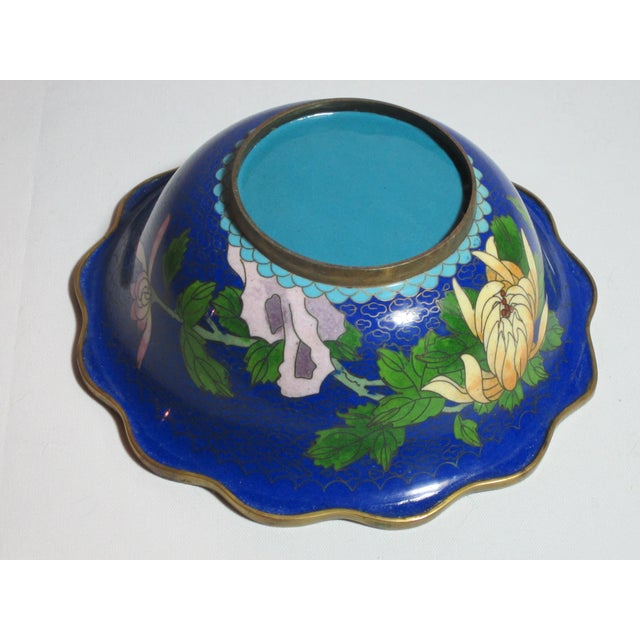 Scalloped Cloisonné Bowl - Image 6 of 6