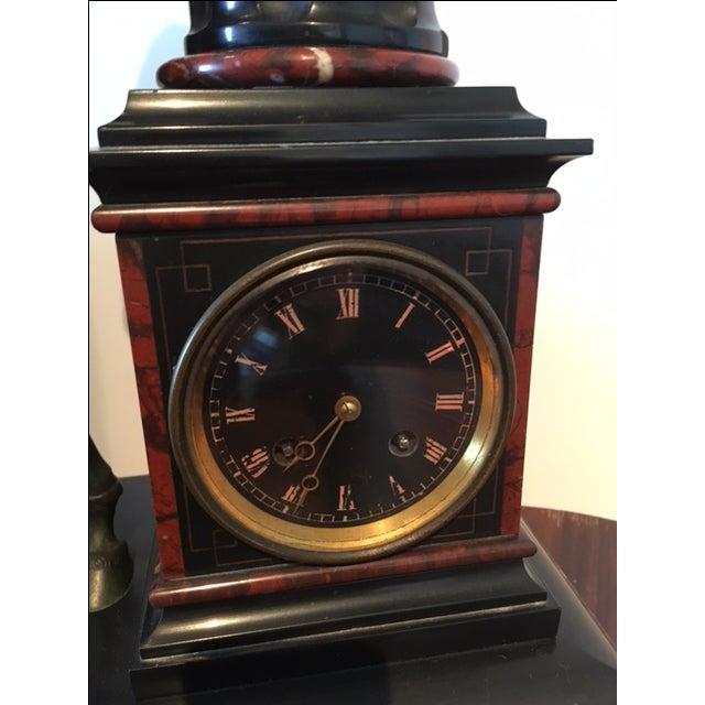 Bronze Sculpture Clock - Image 5 of 6