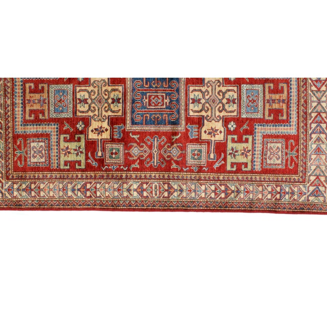 """Leon Banilivi Khotan Ghanzi Wool Rug - 3'9"""" X 6'3"""" For Sale - Image 4 of 7"""