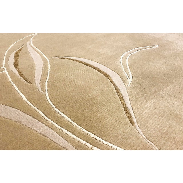 Contemporary Hand Woven Rug - 4' x 6' - Image 3 of 4