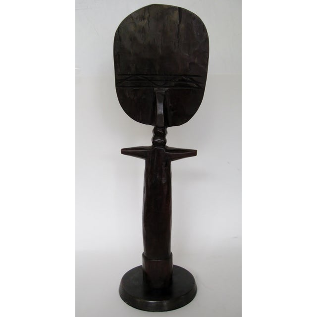 Vintage African Fertility Statue - Image 6 of 6