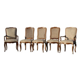 Baker Traditional Dining Chairs - Set of 6 For Sale