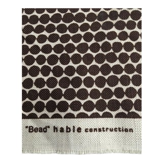 Hable Beads Fabric in Espresso