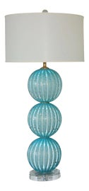 Image of Newly Made Murano Glass Table Lamps