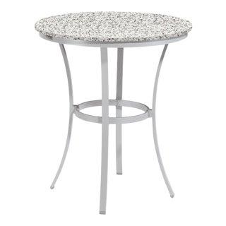 "36"" Round Café Outdoor Bar Table, Ash For Sale"