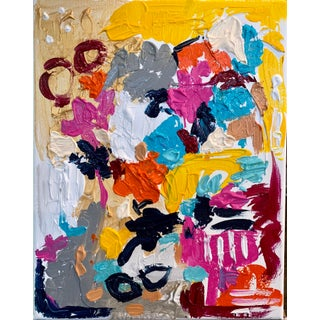 """""""Liberace"""" Contemporary Abstract Expressionist Colorful Painting by Ebony Boyd For Sale"""