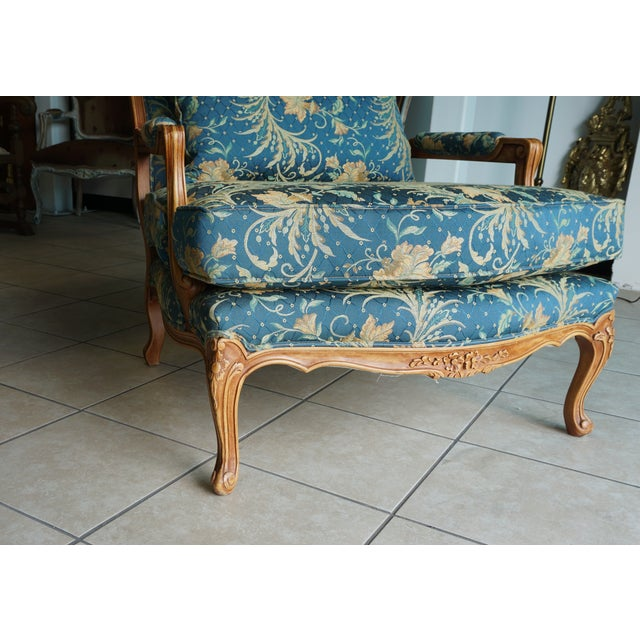 Comfortable Giant Hand Carved Club Chair - Image 8 of 10