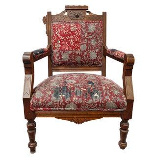 Armchair - Antique Eastlake Armchair For Sale