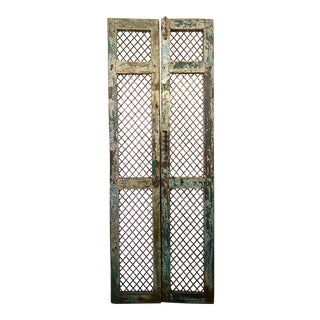"Antique ""Circus/Carnival Gates"" Decorative Doors For Sale"