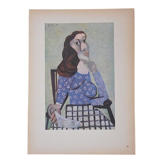 Vintage Ltd. Ed. Modernist Lithograph-Pablo Picasso- c.1946-Folio Size For Sale