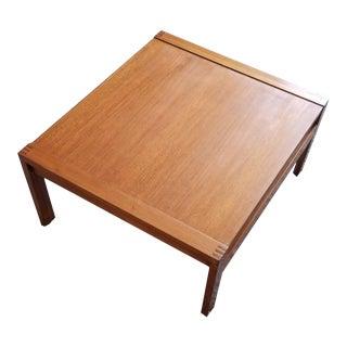 1970s Ole Gjerløv Knudsen & Torben Lind France & Son Coffee Table For Sale
