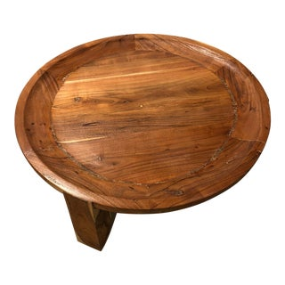 Primitive Erdos + Ko Sienna Coffee Table For Sale