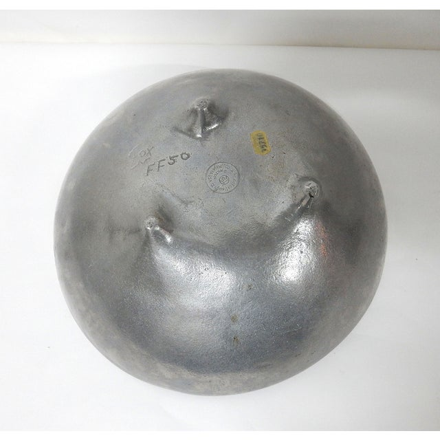 Bruce Fox Design Aluminum Bowl - Image 5 of 7