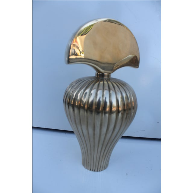 Gabriella Crespi Style Brass Perfume Bottles - S/3 For Sale In Miami - Image 6 of 10