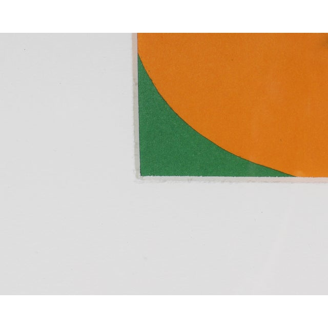 "Ellsworth Kelly 1964 Ellsworth Kelly Lithograph From ""Derriere Le Miroir,"" No. 164 For Sale - Image 4 of 6"