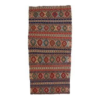 Caucasian Kilim Rug - 5′4″ × 11′2″ For Sale