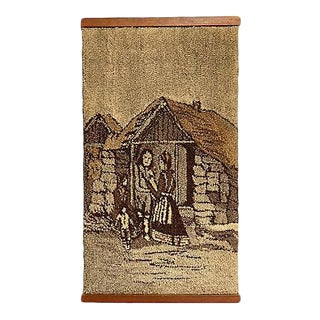 Icelandic Countryside Scene Wall Hanging