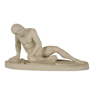 "Antique Italian ""Dying Gaul"" Plaster Cast Rome circa 1900 For Sale"