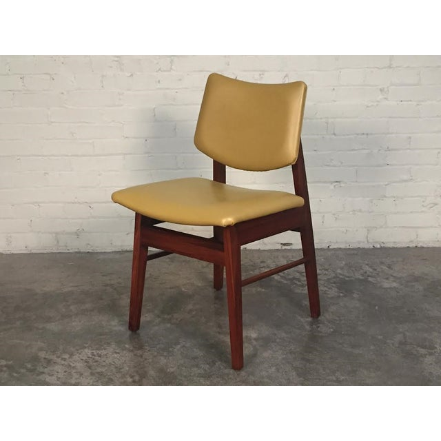 Jens Risom Style Mid-Century Modern Desk Chair - Image 2 of 8