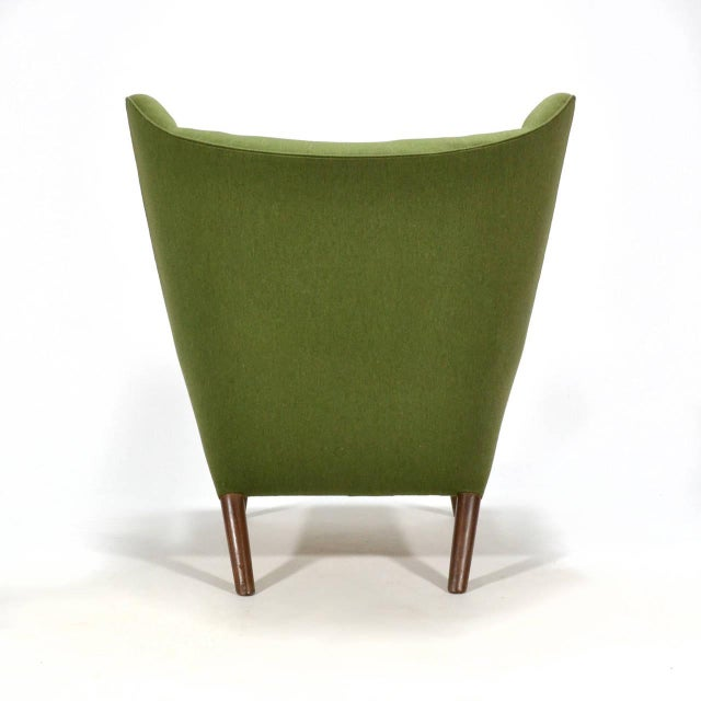 Hans Wegner Papa Bear Chair For Sale In Chicago - Image 6 of 11