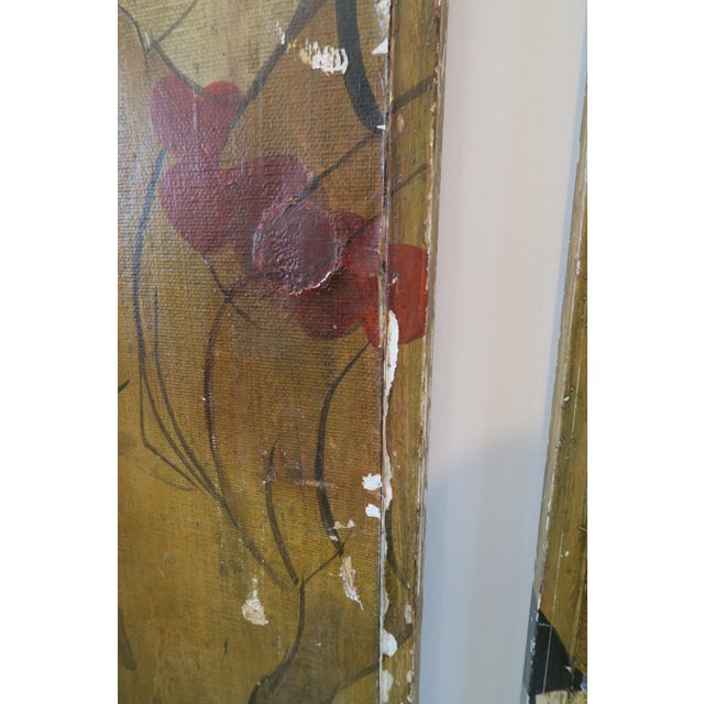 Decorative Chinese Wall Panels - A Pair - Image 4 of 6