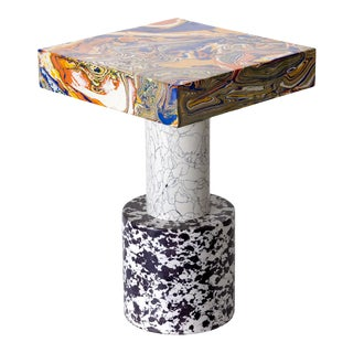 Tom Dixon Swirl Side Table Medium For Sale