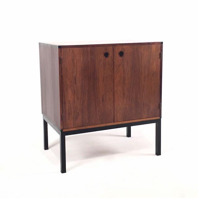 1960s Vintage Danish Rosewood Cabinet For Sale - Image 5 of 5