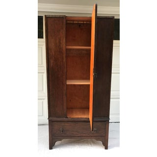Antique English Wardrobe Cabinet Preview