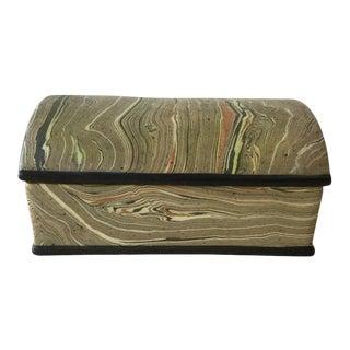Ceramic Italian Covered Box For Sale