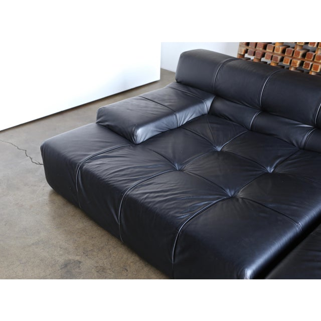 2000 - 2009 B&b Italia Tufty Time Leather Sofa by Patricia Urquiola For Sale - Image 5 of 10