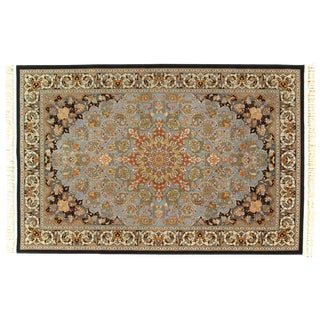 Pasargad Ny Persian Tabriz Machine-Made Rug - 5′ × 8′ For Sale