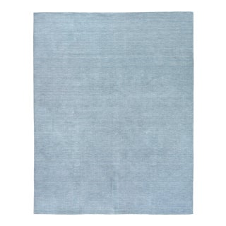 Exquisite Rugs Worcester Handwoven Wool Blue - 12'x15' For Sale