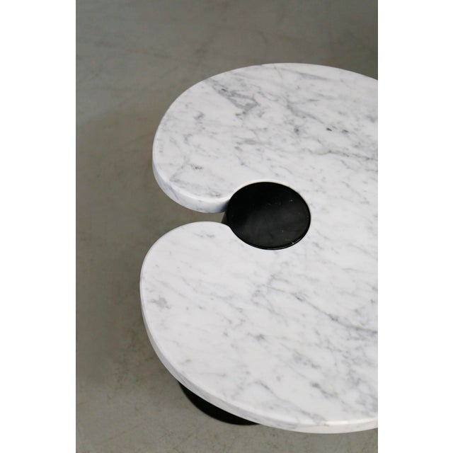 Mid-Century Modern Mangiarotti Coffe Table Skipper Series, Original Label in Marble, 1970s For Sale - Image 3 of 8