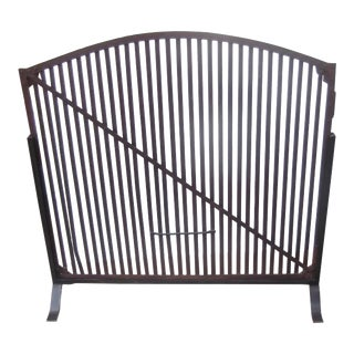 Mid-19th Century Antique Fire Screen Grate For Sale