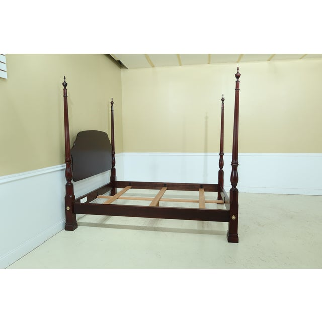 Stickley Stickley Queen Size Cherry High Back Poster Bed For Sale - Image 4 of 12