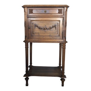 Antique Louis XV Style Nightstand For Sale