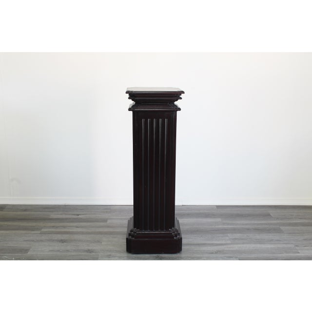 Mid Century Pedestal Base For Sale In Miami - Image 6 of 6
