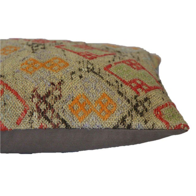 Handmade Kilim Pillow Cover - Image 3 of 5