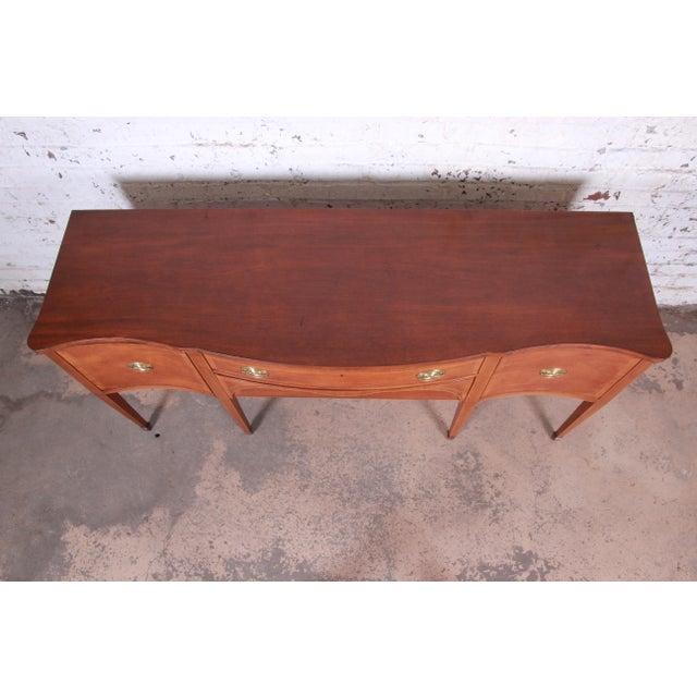 Kittinger Kittinger Inlaid Mahogany Sideboard Credenza For Sale - Image 4 of 13