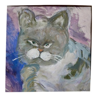 Figurative Drawing, Kitty For Sale