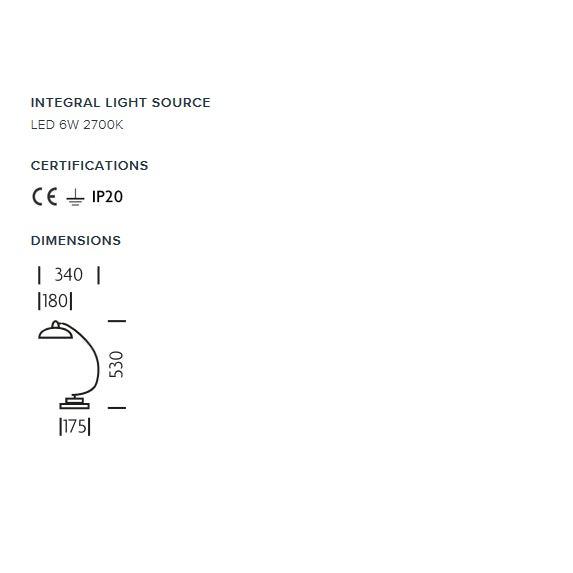 Mid-Century Modern Polished Chrome Desk Light For Sale - Image 3 of 4