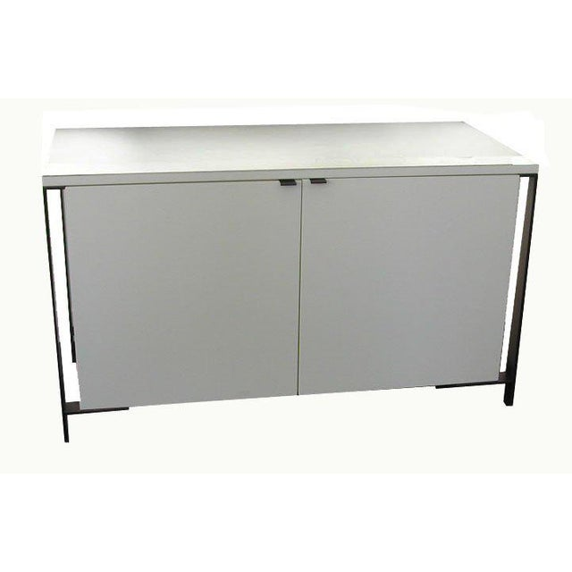 Fabry Bronze Frame Media Cabinet For Sale - Image 4 of 8