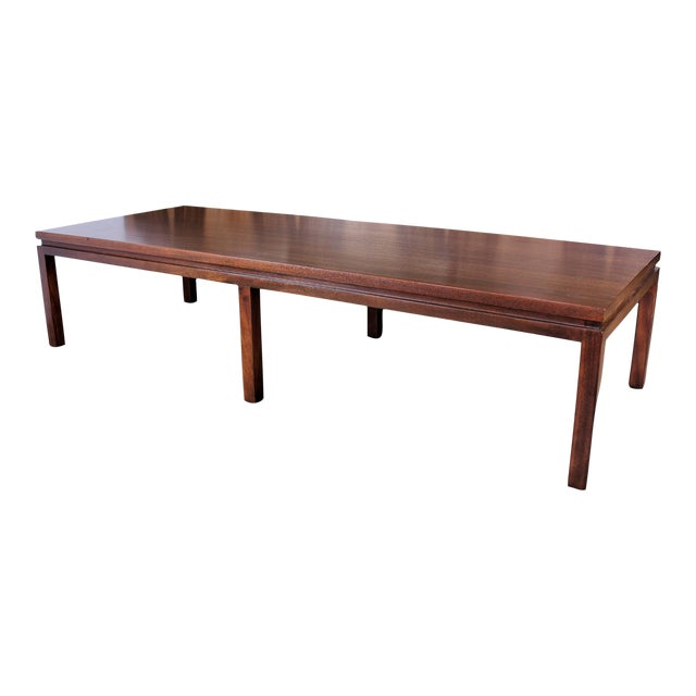 Harvey Probber Mahogany Coffee Table Chairish