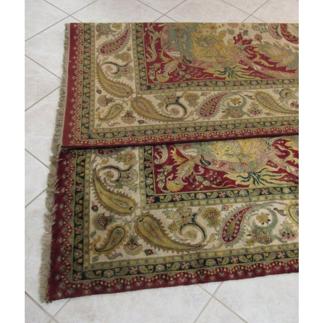 Samad Golden Age Collection Rug - 8' x 10' For Sale - Image 5 of 6