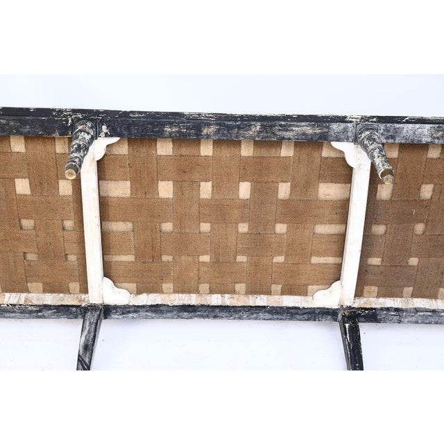 Swedish Cane Back Settee For Sale - Image 12 of 13