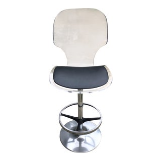 Mid Century Modern Hill Manufacturing Co Bar Stool For Sale