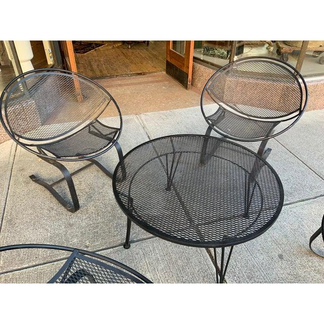 Salterini Salterini Radar Lounge Chairs and Coffee Table Patio Set For Sale - Image 4 of 6