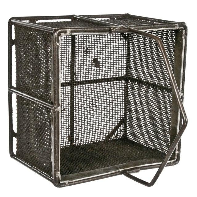 Metal Mesh Basket With Handle - Image 3 of 3