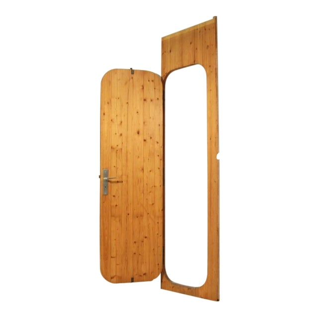 Charlotte Perriand Pine Door from Les Arcs Ski Resort, France, 1960s For Sale